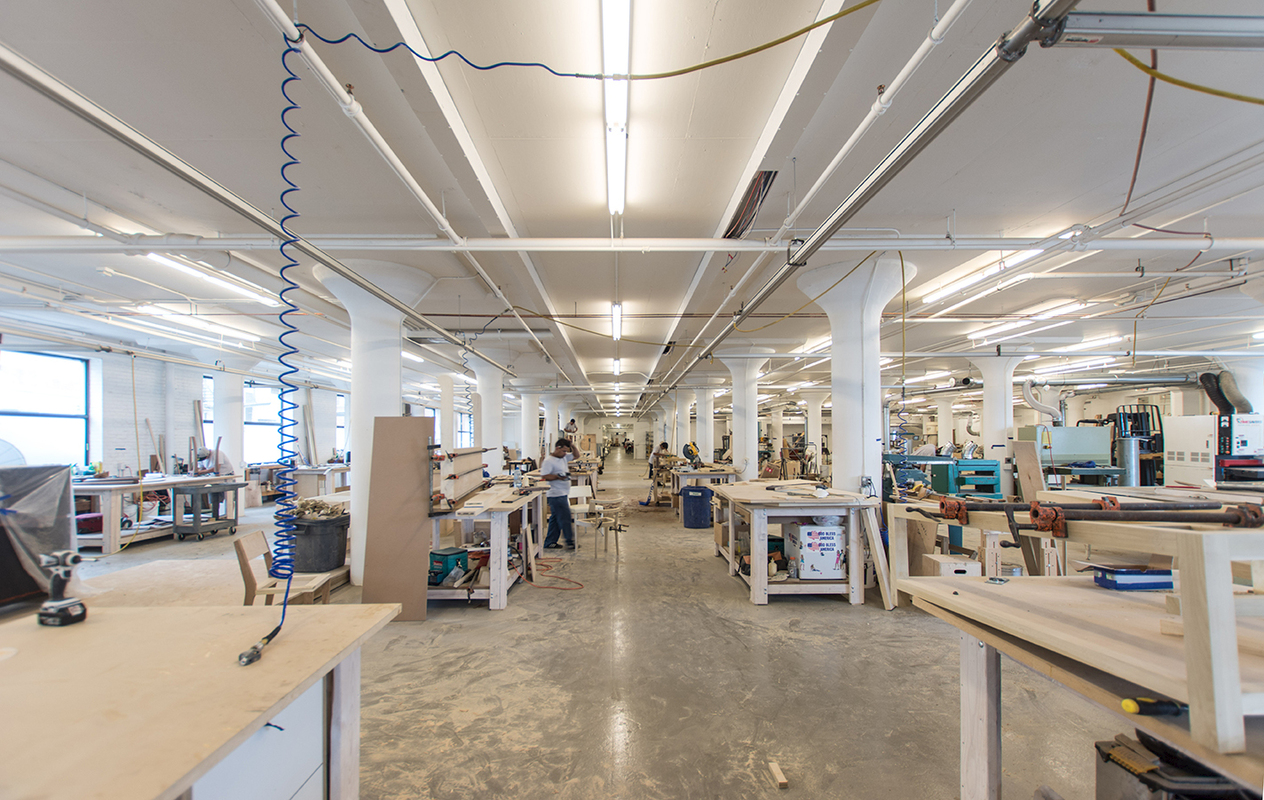 Awesome furniture factory design gallery for Furniture factory